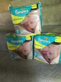 two Pampers Swaddlers disposable diaper packs Burke, 22015