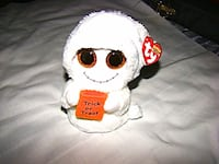 """Ty Beanie Boos Mist the Ghost 6"""" Charlotte"""