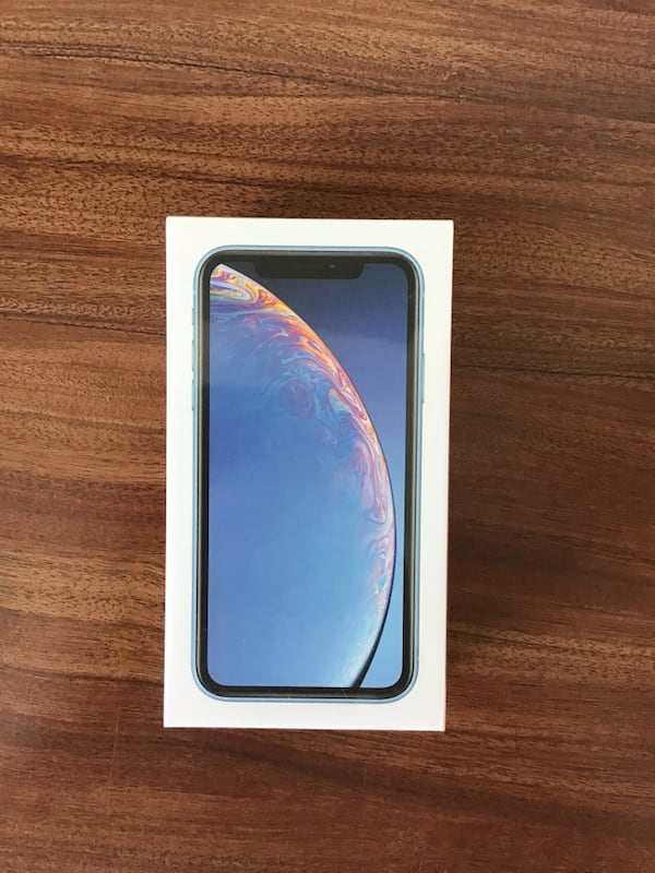 iPhone XR brand new sealed 64gb light blue Verizon  ef1de85a-4936-46ee-86e4-4a87b81fde4d
