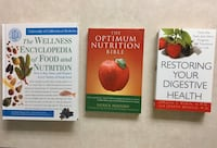 3 Nutrition Books