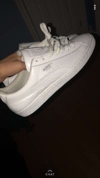 All white adidas low-top shoes SIZE 10 Toronto, M9W 1Z6