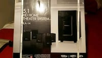 black and gray home theater system Brentwood, 11717