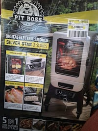 Pit boss 5 in 1 electrical smoker
