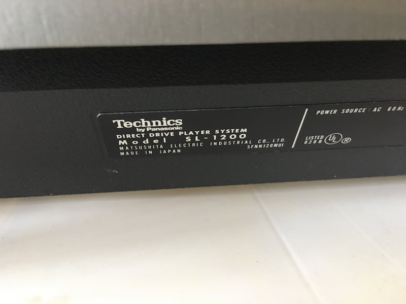 Technics SL-1200 MK3D SL-1200MK3D DJ Turntable Record Player e7f50ec7-30c1-4b8a-90a4-080ba5e4b63e