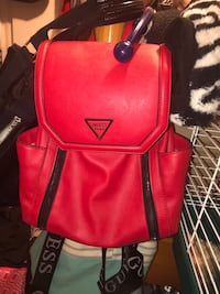 red and black leather backpack Salt Lake City, 84124