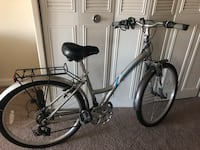 Black and gray hardtail mountain bike Annandale, 22003