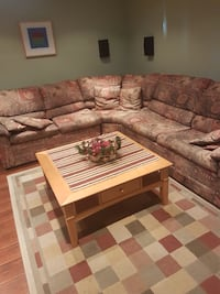 Sectional/Corner sofa with bed