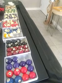 Replacement pool balls from sterling  Henderson