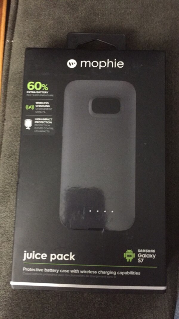 detailed look 06a47 29061 Used New Mophie Juice Pack for Samsung Galaxy S7 for sale in ...