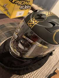 Scorpion bixby EXO motorcycle helmet