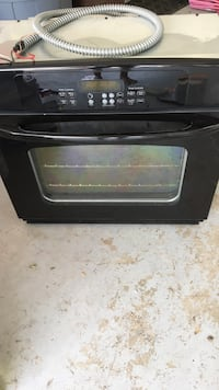 Black and gray induction range oven Murphy, 75094