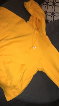 Mustard champion hoodie size small Brand new