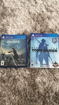 two Sony PS4 game cases Toronto, M6G