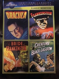 UNIVERSAL CLASSIC MONSTERS MOVIES Guelph, N1G 5A9