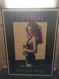 Print and  framed. 25.5 length X 36 height.