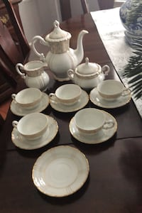 Fine Seyei China 1030- 16 piece Demitasse set- Vintage Silver Spring, 20905