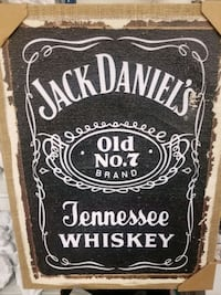 JACK DANIELS CANVAS ART (NEW)