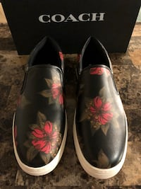 New Men's Coach Slip Ons