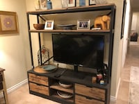 Rustic Iron and Wood Entertainment Center Baton Rouge, 70808