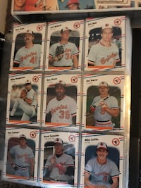baseball players trading card collection Mount Hope, 25880