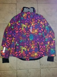 purple, green, and blue floral zip-up Mississauga, L5N 2C4