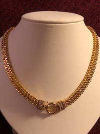 Gold plated Necklace and Bracelet good quality  Rockville, 20852