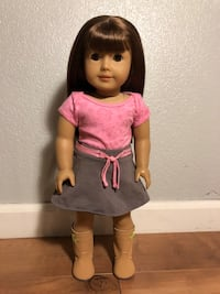 American Girl Doll #13 With Boots and Hairbrush Ontario, 91764