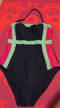 women's black, blue and red one-pice swimsuit Winnipeg, R2M 0Y8