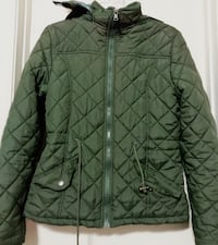 Hunter green quilted jacket Oklahoma City, 73159