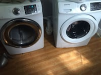Electric Samsung front load washer and dryer  Baltimore, 21216