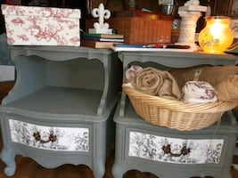 French tueille inspired night stands