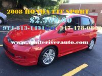 2008  HONDA FIT SPORT  New Rochelle