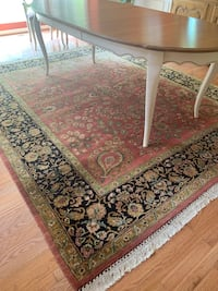 8x10 hand knotted imported area rug Ellicott City, 21043