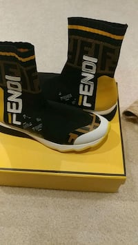 FENDI sneakers size 37(no box) Clarksburg, 20871