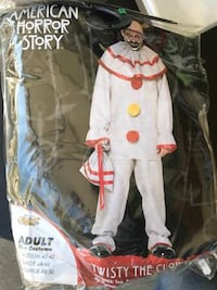 Costume - Twisty the Clown Adults Fountain Valley, 92708