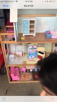 brown and pink doll house Anaheim, 92804