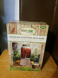 Beverage dispenser with base