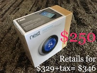 Brand new NEST learning thermostat, 3rd generation Calgary, T2C