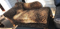 brown and black leopard print throw pillow Surrey, V3T