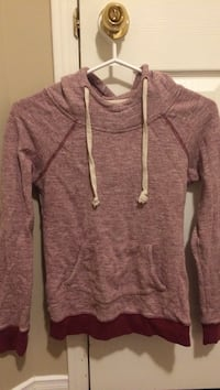 maroon pull over hoodie Whitby, L1M 1E2