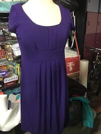 Purple dress size 6 Fresno, 93711