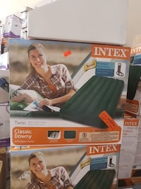 Intex Twin classy downy bed Barrie, L4N 9P6