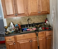 Kitchen cabinets , counter top and sink New York, 11420