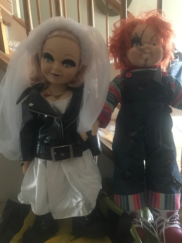 used chucky and tiffany dolls for sale in toms river letgo