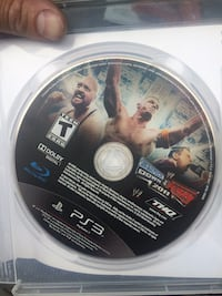 WWE 2011 PS3 game disc in cas 261 mi