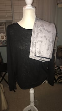 Victoria's Secret Pants and Long Sleeve PJs size Small-WITH TAGS New York, 10308