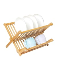 Collapsible Wooden Bamboo Dish-Mug Rack College Park, 20740