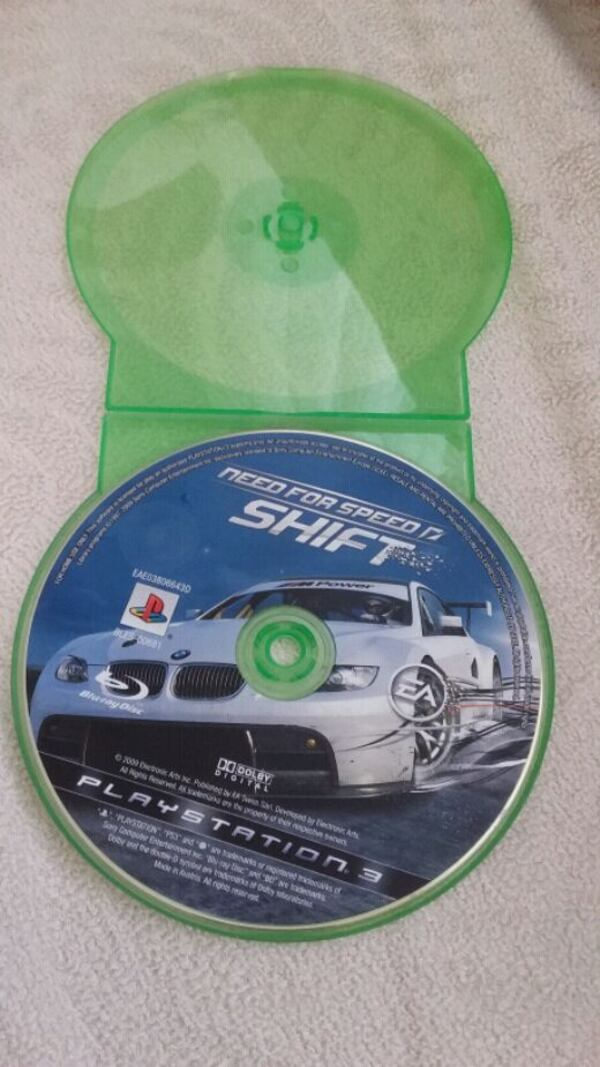 Need For Speed Shift PS3 0