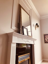 Large antique gold beveled mirror from Costco bought for $225 selling for $$100 or best offer Surrey, V3S 8V5