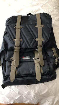 black and brown leather backpack Mississauga, L5R